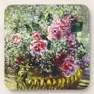 Monet Roses Coasters