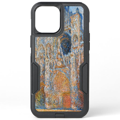 Monet - Rouen Cathedral, the Facade in Sunlight OtterBox Commuter iPhone 12 Pro Max Case