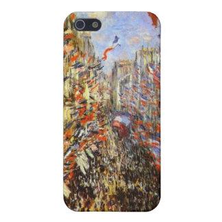 Monet, ruda Montorgueil iPhone 5 Funda