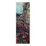 Monet - ruda Santo-Denis en la festividad nacional Tarjetas De Visita Mini