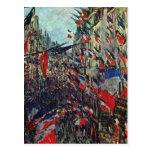 Monet - ruda Santo-Denis en la festividad nacional Postal