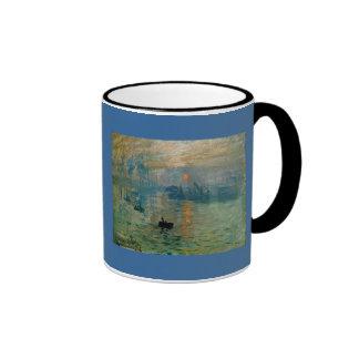 Monet s Impression Sunrise soleil levant - 1872 Mugs