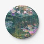 Monet's Water Lilies 7 Inch Paper Plate