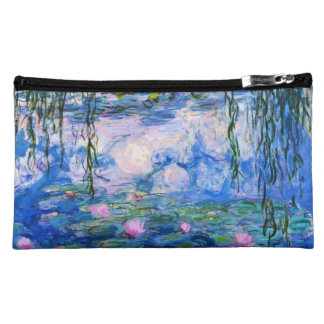 Monet's Water Lilies Cosmetic Bags