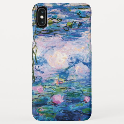 Monet's Water Lilies iPhone XS Max Case