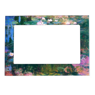 Monet's Water Lilies Magnetic Photo Frame