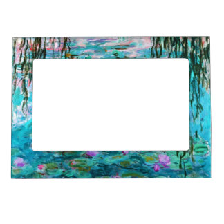 Monet's Water Lilies Magnetic Picture Frame