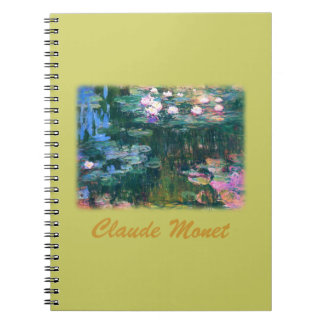Monet's Water Lilies Notebook