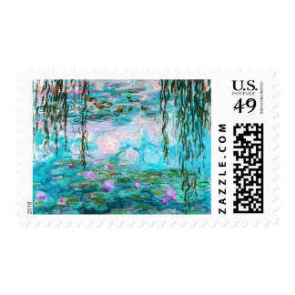 Monet's Water Lilies Stamp