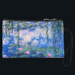 "Monet's Water Lilies Wristlet<br><div class=""desc"">Monet's Water Lilies. Please visit my store for more interesting design and more color choice. =&gt;     zazzle.com/iwheels*</div>"