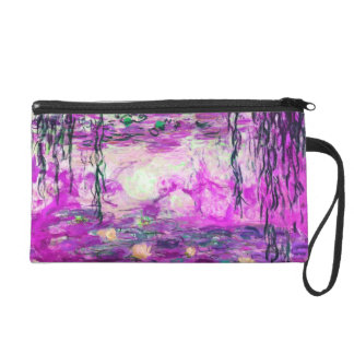 Monet's Water Lilies Wristlet Purse