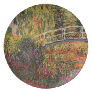 Monet's Water Lily Pond Dinner Plate