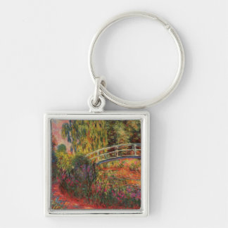 Monet's Water Lily Pond Keychain