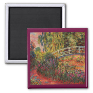 Monet's Water Lily Pond Magnet