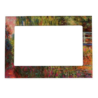 Monet's Water Lily Pond Magnetic Picture Frame