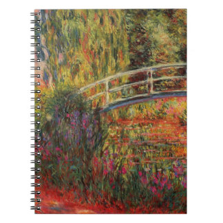 Monet's Water Lily Pond Notebook
