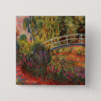 Monet's Water Lily Pond Pinback Button