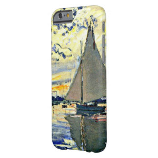 Monet - Sailboat at le Petit Gennevilliers Barely There iPhone 6 Case