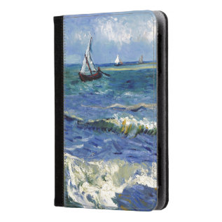 Monet Seaview Kindle Fire Hd/hdx Folio Case at Zazzle