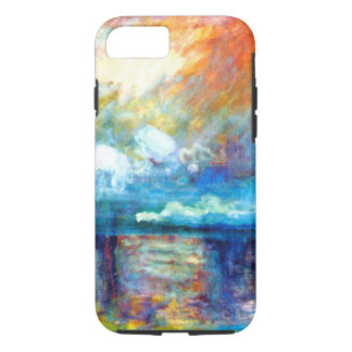Monet Smoke in the Fog iPhone 7 Case