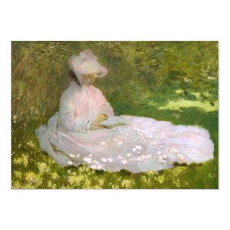 "Monet Springtime Invitations 5"" X 7"" Invitation Card"