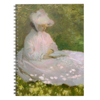 Monet Springtime Notebook