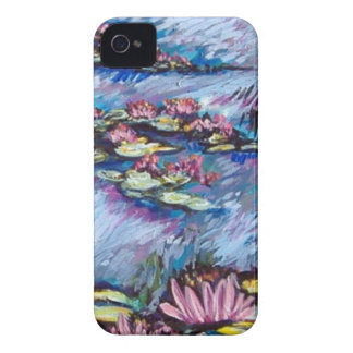 monet style lilies iPhone 4 Case-Mate case