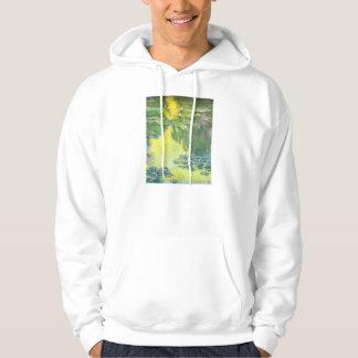 Monet Sunset Waterlilies Hoodie