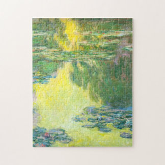 Monet Sunset Waterlilies Puzzle