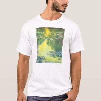 Monet Sunset Waterlilies T-shirt