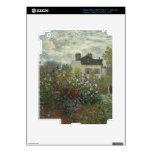 Monet The Artist's Garden in Argenteuil iPad 3 Skins