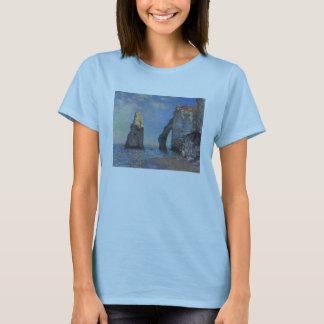 Monet_The Cliffs at Etretat T-Shirt