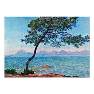 Monet - The Esterel Mountains Poster