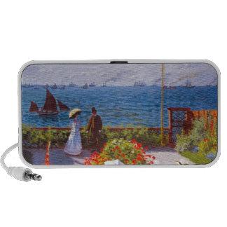 Monet the Garden at St Addresse French Painting Speaker