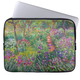 "Monet ""The Iris Garden at Giverny"" Computer Sleeve"