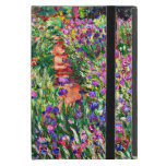 Monet - The Iris Garden at Giverny Cover For iPad Mini