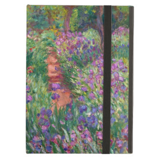 """Monet """"The Iris Garden at Giverny"""" iPad Air Cover"""