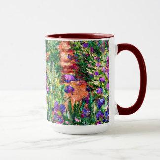 Monet - The Iris Garden at Giverny Mug