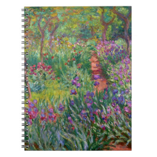 "Monet ""The Iris Garden at Giverny"" Notebook"