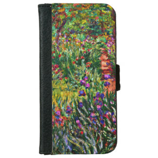Monet - The Iris Garden at Giverny Wallet Phone Case For iPhone 6/6s