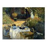 Monet - The Luncheon Postcard