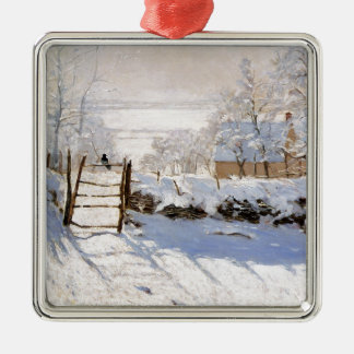 Monet - The Magpie Christmas Ornaments