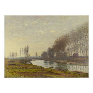 Monet, The Petit Bras of the Seine at Argenteuil Poster