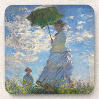 Monet The Promenade Woman with a Parasol Coasters