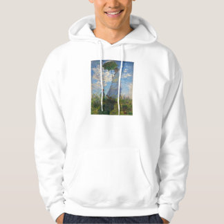Monet The Promenade Woman with a Parasol Hoodie