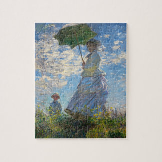 Monet The Promenade Woman with a Parasol Puzzle