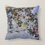 Monet - The Rose Bush Pillows