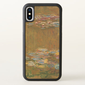 Monet The Water Lily Pond Fine Art GalleryHD iPhone X Case