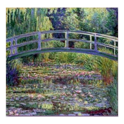 Monet-The Water Lily Pond Posters