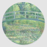 Monet The Water Lily Pond Sticker